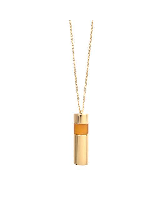 Chloé | Metallic Pendant Necklace Gemma Quartz | Lyst