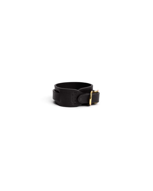 Shinola | Black Wide Double Wrap Leather Bracelet | Lyst