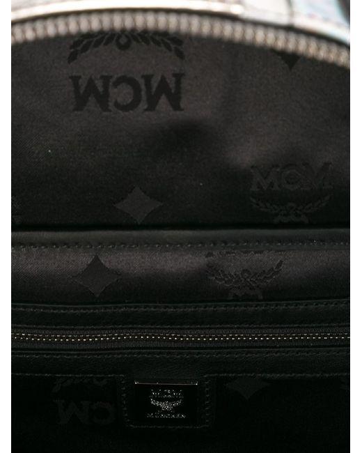 MCM | Blue Bebe Boo Backpack | Lyst