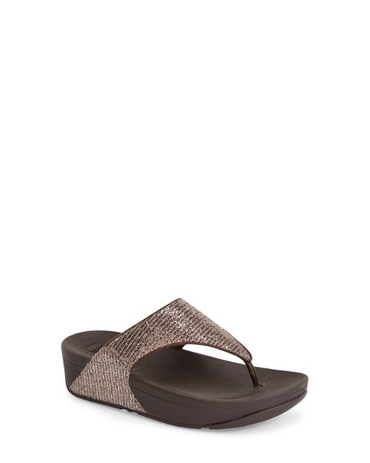 Fitflop | Metallic (tm) 'lulu - Superglitz' Sandal | Lyst
