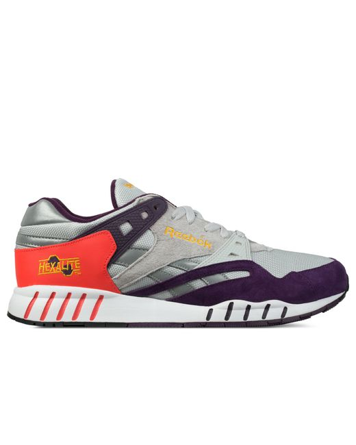 Reebok | Gray Royal Orchid/steel/neon Cherry/gold/white for Men | Lyst