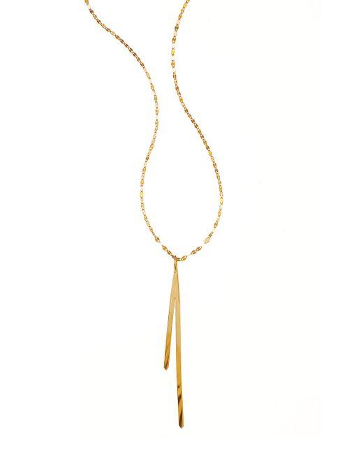Lana Jewelry | Metallic 14k Elite Bar Reflector Pendant Necklace | Lyst