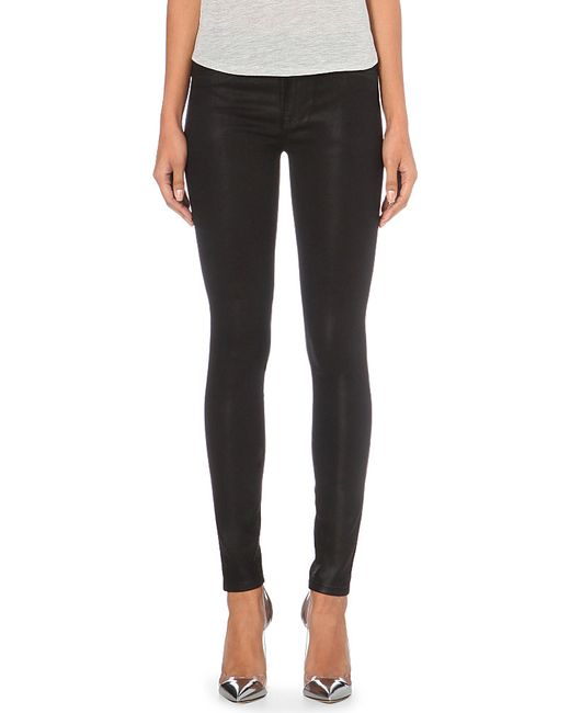 Hudson Jeans | Black Nico Super-skinny Mid-rise Jeans | Lyst