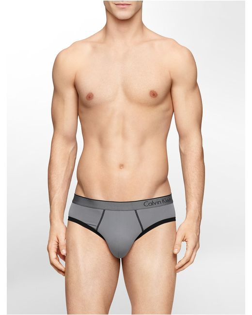 Calvin Klein | Gray Underwear Ck One Micro Hip Brief for Men | Lyst