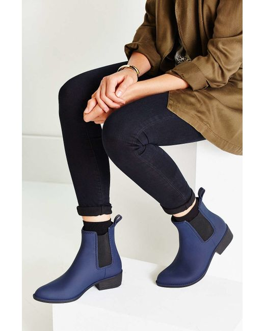 Jeffrey Campbell | Blue Stormy Rain Boot | Lyst