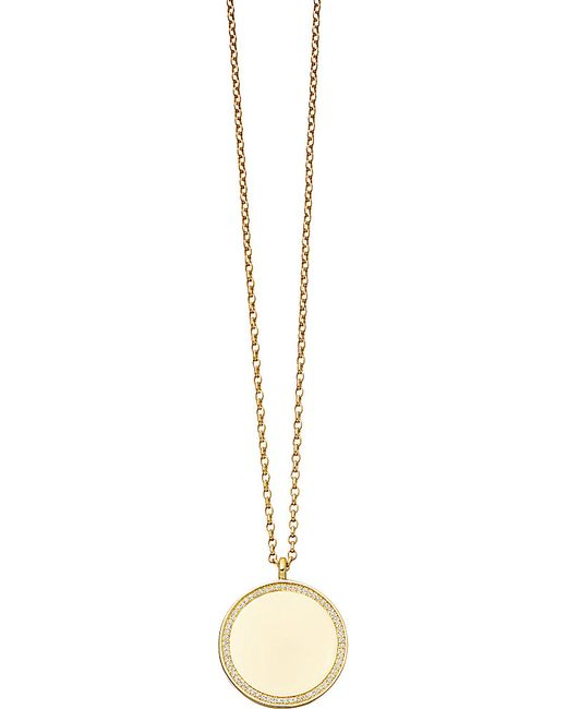 Astley Clarke | Metallic Giant Cosmos Large 14ct Yellow-gold And Diamond Locket | Lyst