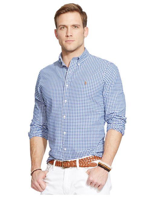 Polo Ralph Lauren | Blue Multi-striped Oxford Shirt for Men | Lyst