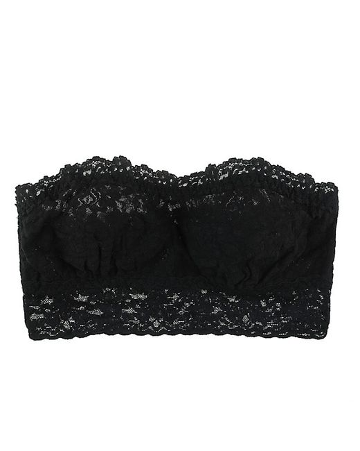 Hanky Panky | Black Signature Lace Lined Bandeau | Lyst