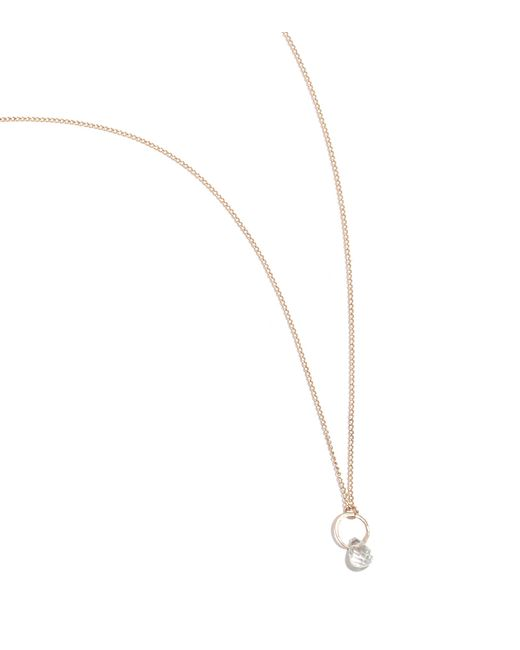 Melissa Joy Manning | Metallic White Topaz Drop Necklace | Lyst