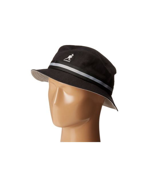 Kangol | Black Stripe Lahinch | Lyst