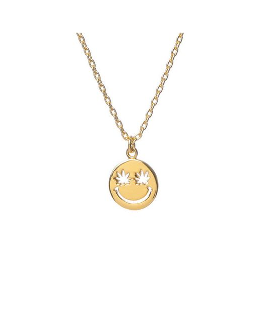Bing Bang | Yellow Happy Eyes Necklace | Lyst