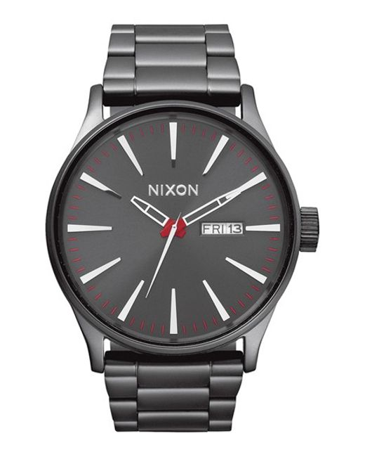 Nixon | Metallic 'sentry' Bracelet Watch | Lyst