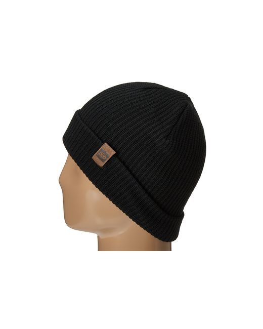 686 | Black Big Up Slouch Beanie for Men | Lyst