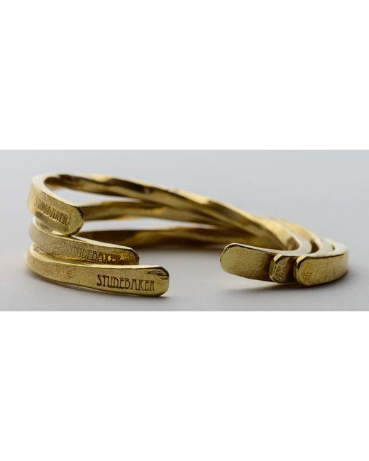 Kaufmann Mercantile | Metallic Hand-Forged Brass Cuff for Men | Lyst