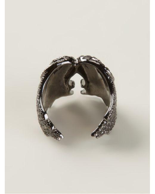 Elise Dray | Metallic Wings Ring | Lyst