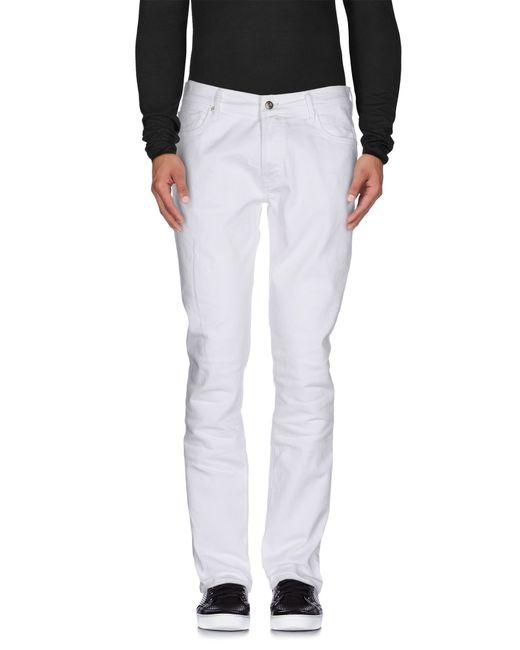 HTC | White Denim Pants for Men | Lyst