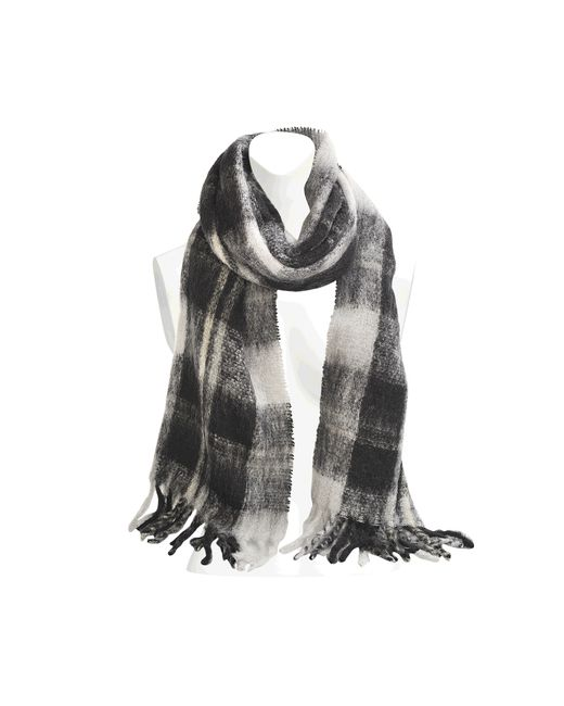 Marc By Marc Jacobs   Gray Blanket Plaid Scarf   Lyst