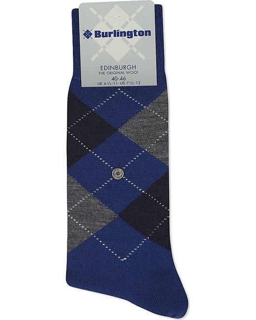 Smythson | Blue Edinburgh Wool-blend Socks for Men | Lyst