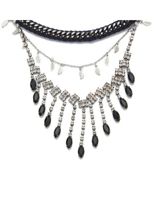 Venessa Arizaga | Black Women's Let It Rain Necklace | Lyst