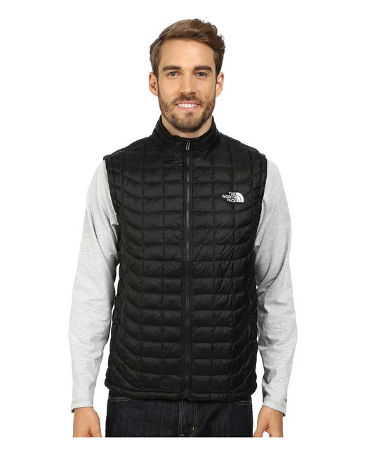 The North Face | Black Thermoball™ Vest for Men | Lyst