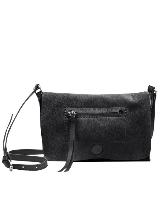 Linea Pelle | Black Hunter Crossbody Bag | Lyst