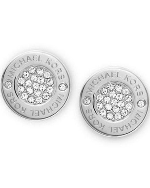 Michael Kors | Metallic Mkj3352040 Womens Earrings | Lyst