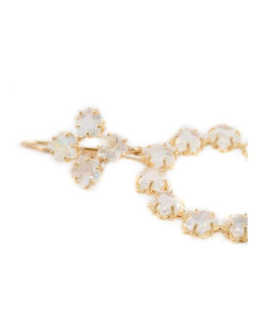 Marie-hélène De Taillac | Metallic 22kt Gold 'rainbow' Moonstone Earrings | Lyst