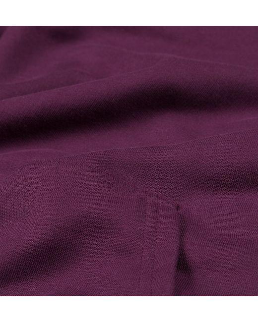 Sunspel   Purple Men's Loopback Cotton Hoody for Men   Lyst