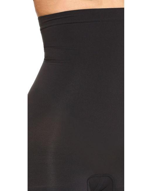 Spanx | Black Higher Power Shorts | Lyst