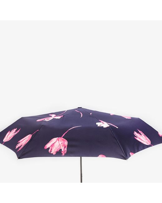 Joules French Tulip Print Umbrella In Blue Navy Pink Lyst