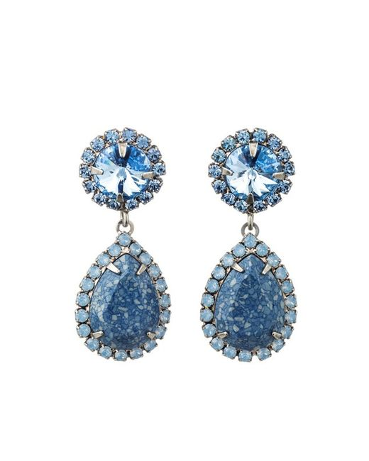 DANNIJO   Blue Monaco Earring   Lyst