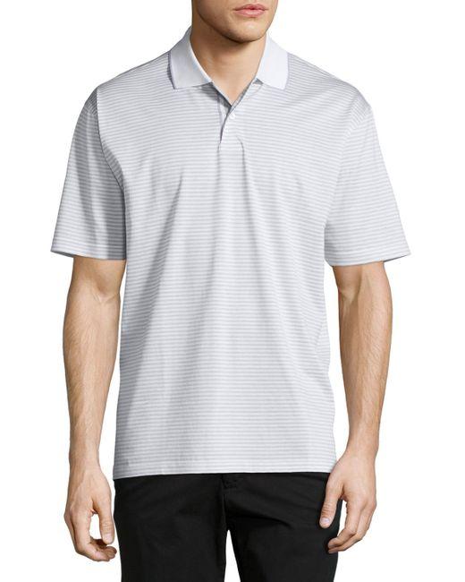 Robert talbott short sleeve three button polo shirt in for Robert talbott shirts sale
