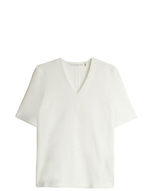 Victoria Beckham | White Structured Top | Lyst