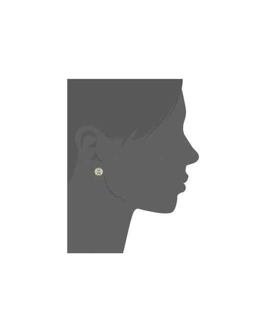 Michael Kors   Metallic Park Avenue Glam Stud Earrings   Lyst