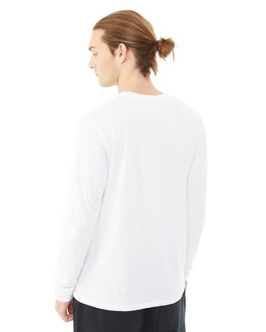 Alternative Apparel | White Heritage Garment Dyed Long Sleeve T-shirt for Men | Lyst
