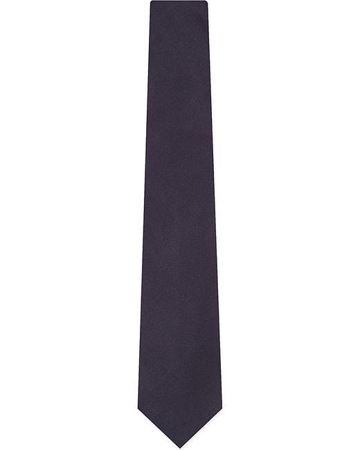 Lanvin | Blue Silk Tie for Men | Lyst