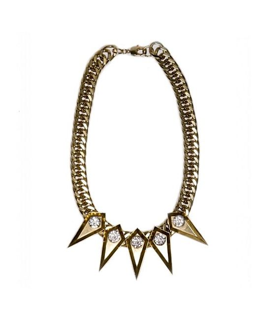 Nicole Romano | Metallic Drea Necklace | Lyst