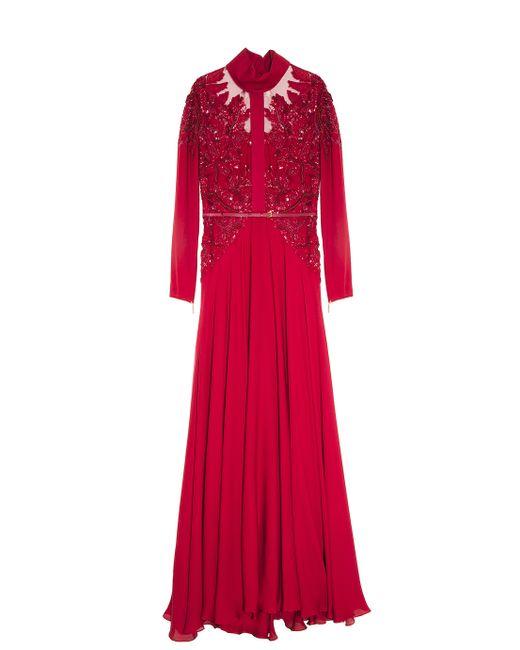 Elie Saab | Embroidered Dress | Lyst