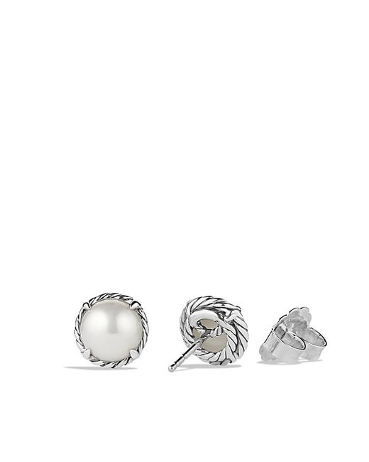 David Yurman | White Chatelaine Earrings With Pearl | Lyst