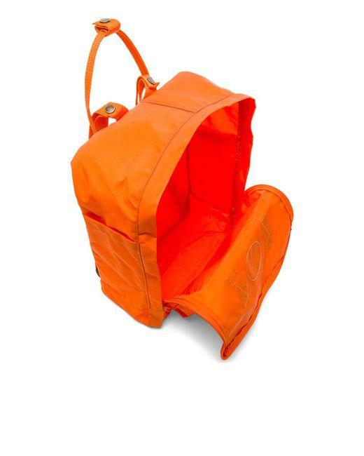 Fjallraven | Orange Kanken for Men | Lyst