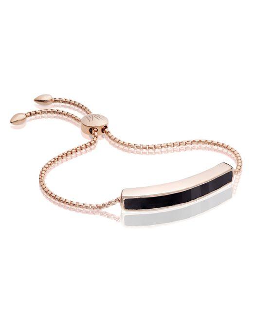 Monica Vinader | Black Baja Bracelet | Lyst