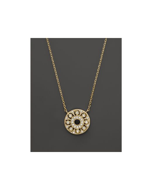 KC Designs | Diamond Pendant In 14k Yellow Gold, .15 Ct. T.w. | Lyst