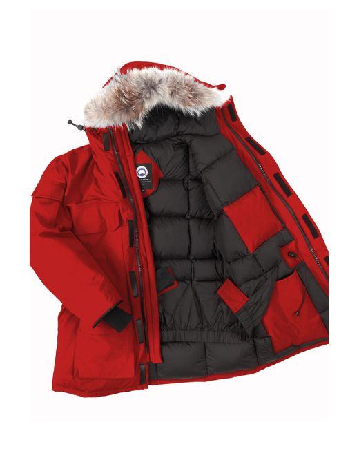 Canada Goose montebello parka sale fake - Canada goose Men'S Citadel Parka in Red for Men (Redwood) | Lyst