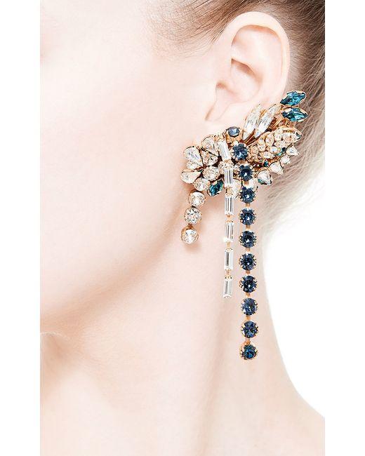 Bijoux Heart | White Large Swarovski-Crystal Left Ear Cuff | Lyst