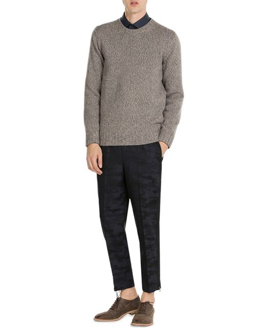 closed cashmere pullover in gray for men lyst. Black Bedroom Furniture Sets. Home Design Ideas