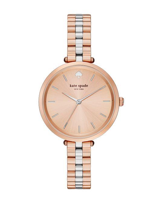 Kate Spade | Pink Holland Skinny Bracelet Watch | Lyst