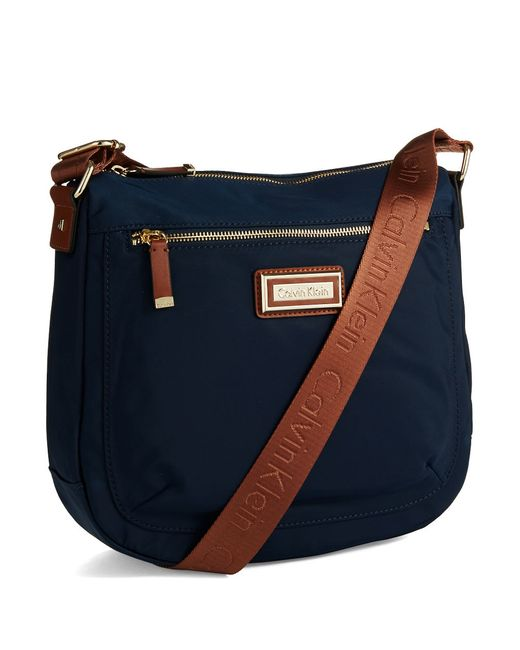 Calvin Klein | Blue Messenger Bag | Lyst