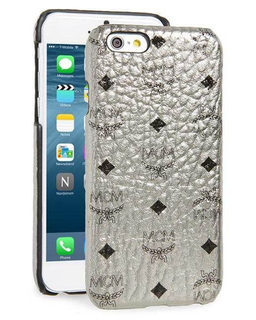MCM | 'claus' Iphone 6 & 6s Case - Metallic | Lyst
