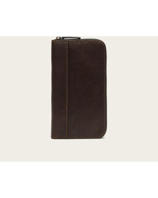 Frye | Brown Logan Travel Wallet for Men | Lyst
