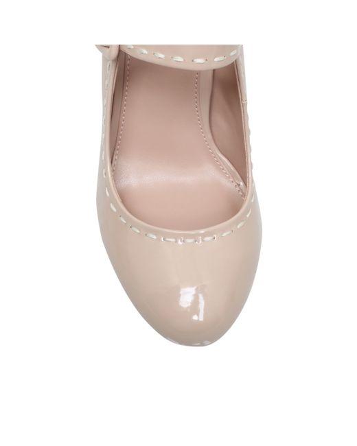 Carvela Kurt Geiger | Natural Karis High Heel Court Shoes | Lyst